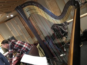 Busy few days of harping! Image 4