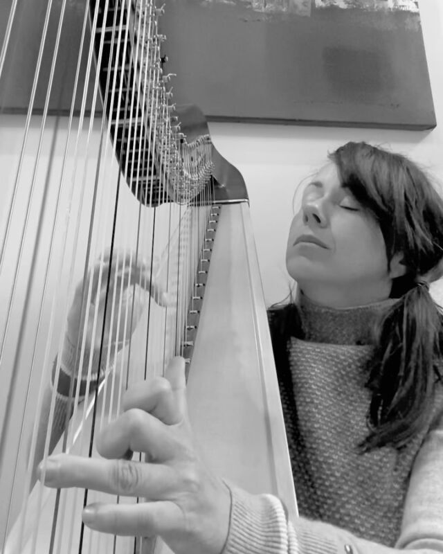 I know this is a little out of my norm but I've been listening to @elbowofficial playing #goldenslumbers by the Beatles. It's the most beautiful piece. A few moments to wash over your souls.. indulge with me.....❤️ #beatles #harp #harpmusic #soulfood #relax #chill #beautifulmusic #harpist @paulmccartney